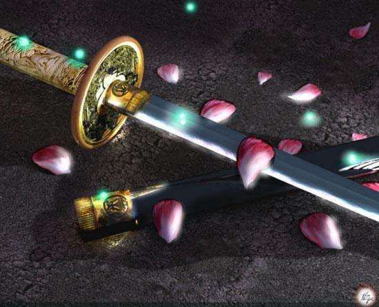 настоящая катана самурайский меч катана