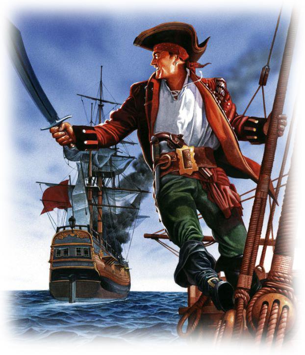 Секс на пиратском судне