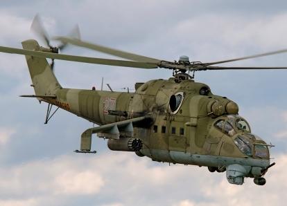 Ми-24 - топ-10 вертолетов мира