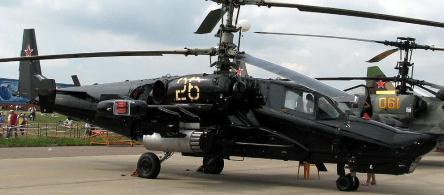 КА-50 - топ-10 вертолетов мира