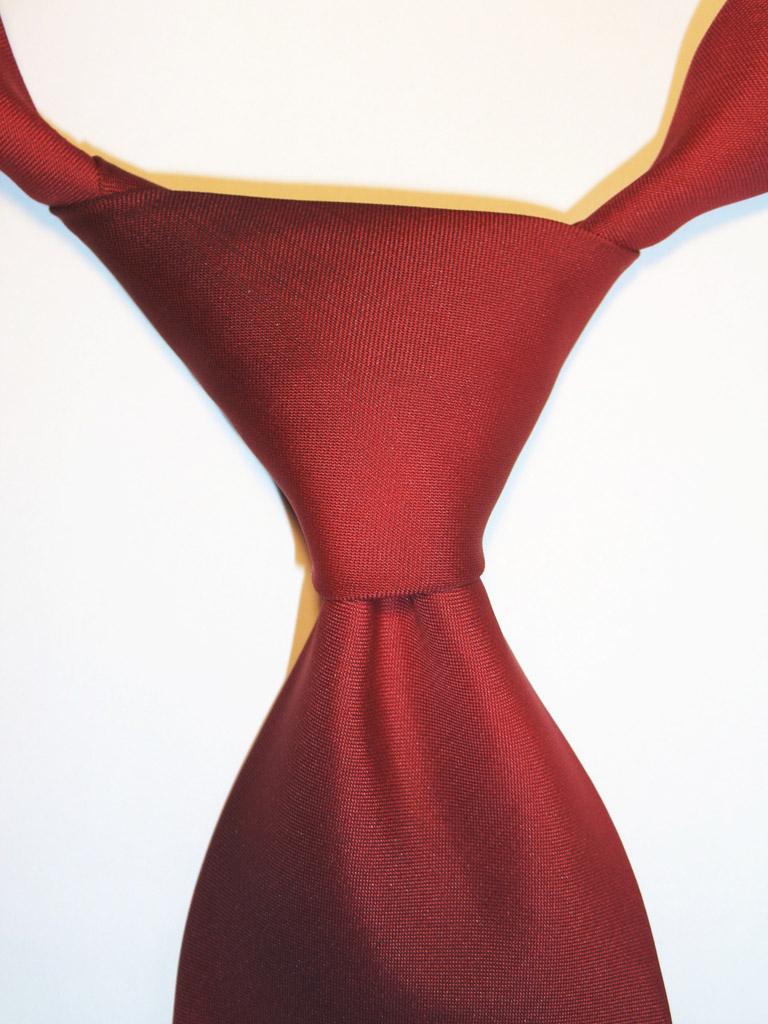 красивый узел галстука
