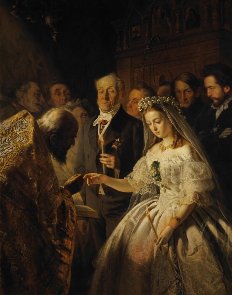 Неравный брак, Василий Пукирев