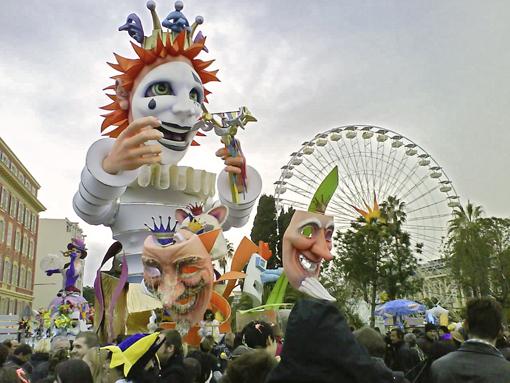 Лучшие карнавалы стран мира - Ницца