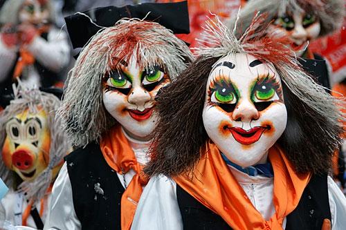 Где проходят карнавалы - Базель