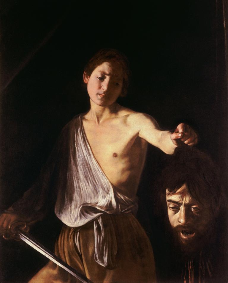 Давид с головой Голиафа, Караваджо