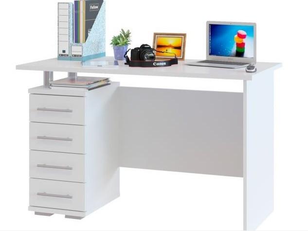 Виды компьютерных столов - линейные
