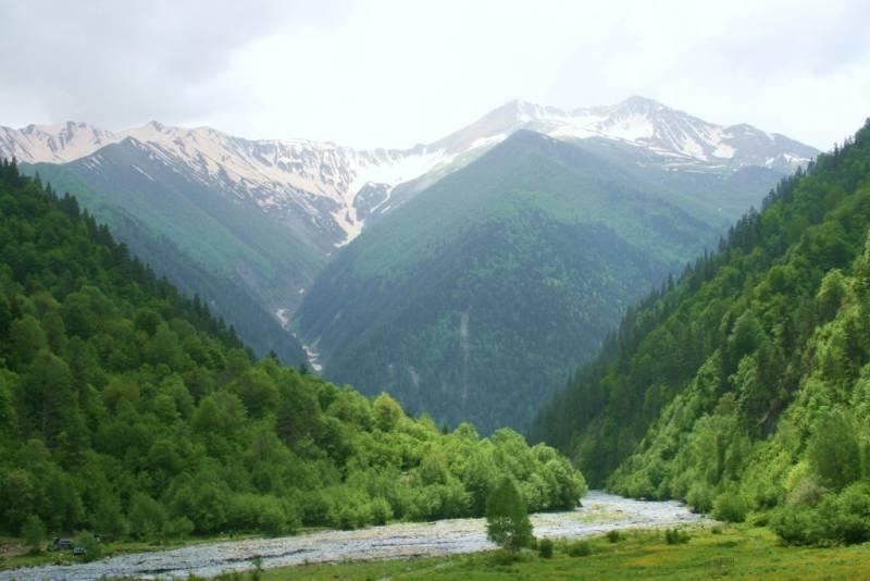 Южная Осетия на карте мира факты