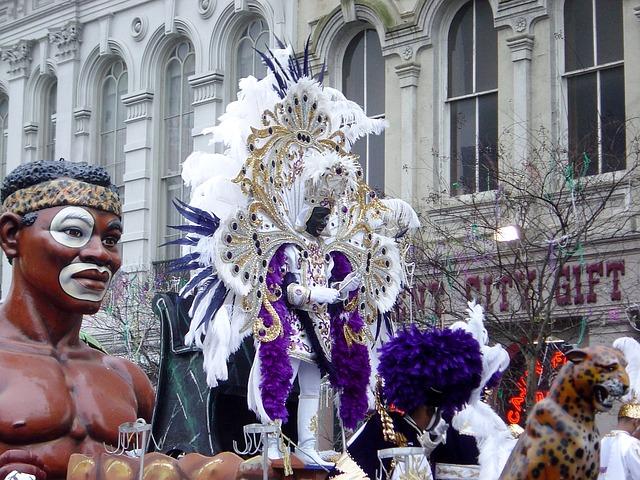 Карнавалы в разных странах мира - Марди Гра, Нью-Орлеан