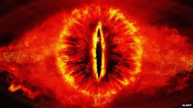 Глаз Саурона, «Властелин колец»
