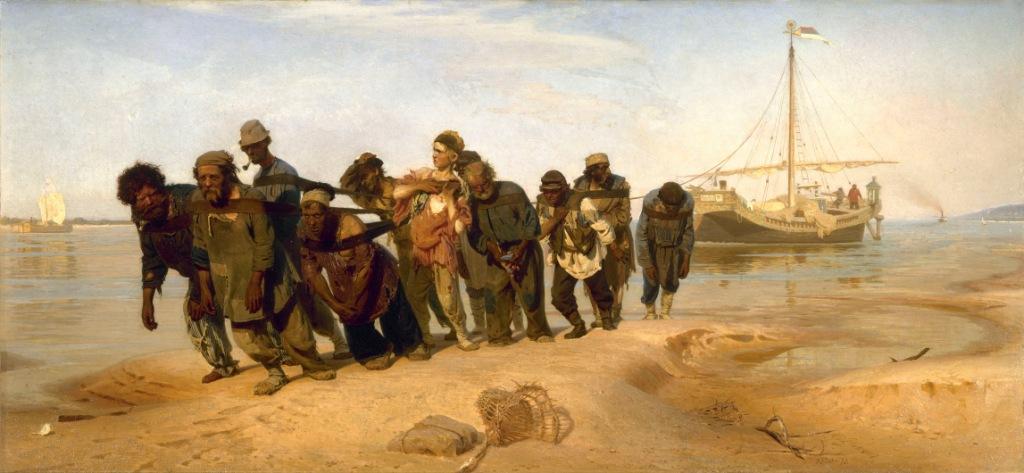 Бурлаки на Волге, Илья Репин