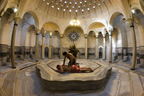 где появились первые бани - Турция, хамам