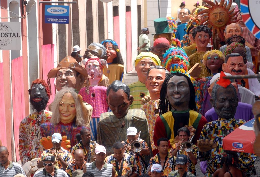 В каких городах проходят карнавалы - Салвадор-да-Баиа