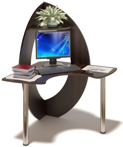 Виды компьютерных столов - угловые